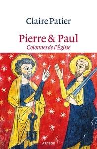 Claire Patier - Pierre & Paul - Colonnes de l'Eglise.