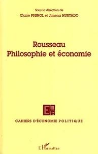 Claire Pignol et Jimena Hurtado - Cahiers d'économie politique N° 53/2007 : Rousseau Philosophie et économie.