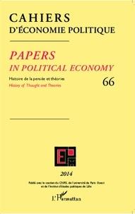 Claire Pignol - Cahiers d'économie politique N° 66/2014 : .