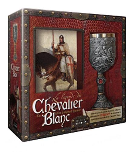 Claire Rostan - La légende du chevalier blanc - Ou le livre à énigmes d'Ysendur.