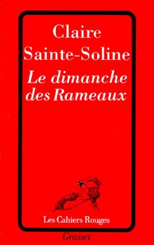 Claire Sainte-Soline - Le dimanche des Rameaux.