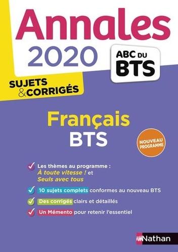 Annales Francais Bts Sujets Corriges Grand Format