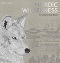 Claire Scully - Nordic wilderness a colouring book.