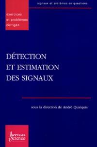 Deedr.fr DETECTION ET ESTIMATION DES SIGNAUX. Exercices et problèmes corrigés Image