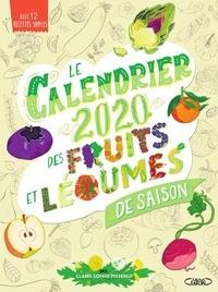Bons livres gratuits téléchargement gratuit Le calendrier des fruits et légumes de saison  - Avec 12 recettes simples