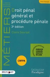 Droit pénal général et procédure pénale - Claire Sourzat pdf epub
