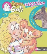 Claire Ubac et  Mérel - Français CE1 Super Gafi Magazine.