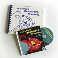 Claire Ubac - Petit Chat découvre le monde - 2 volumes. 1 CD audio