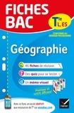 Fiches bac Géographie Tle L, ES - fiches de révision   Terminale L, ES.