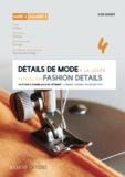 Claire Wargnier - Détails de mode à la loupe - Tome 4, Cols, manches, parementures, entoilages et doublures, édition bilingue français-anglais.