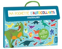 Claire Wortemann - Ma pochette d'autocollants - Dinosaures.