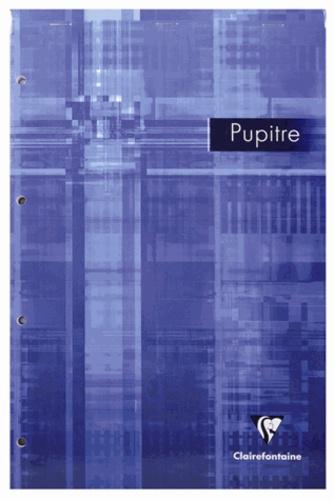 Bloc Pupitre A4 - 160 pages détachables perforées grands carreaux séyès
