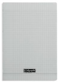 CLAIREFONTAINE - Cahier Calligraphe gris grands carreaux séyès 21x29,7cm 96 pages