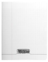 CLAIREFONTAINE - Cahier Calligraphe incolore grands carreaux séyès 21x29,7cm 96 pages