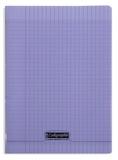 CLAIREFONTAINE - Cahier Calligraphe violet grands carreaux séyès 21x29,7cm 96 pages