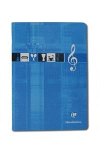CLAIREFONTAINE - Cahier de Musique grands carreaux séyès - 21x29,7cm - 48 pages