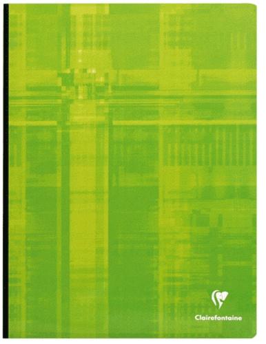 CLAIREFONTAINE - Cahier Metric grands carreaux séyès - 24x32cm - 192 pages