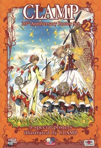Clamp - Clamp 20th Anniversary Poster Set - 9 special posters.