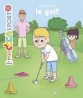 Clara Soriano et Franck Vigouroux - J'apprends le golf.