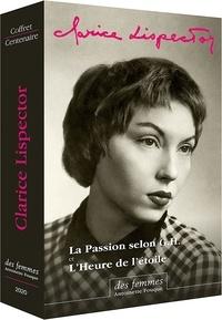 Clarice Lispector et Didier Lamaison - Coffret Clarice Lispector en poche - L'Heure de l'étoile - La Passion selon G.H. + livret illustré.