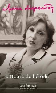 Clarice Lispector - L'Heure de l'étoile (éd. poche).