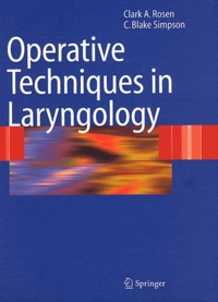 Histoiresdenlire.be Operative Techniques in Laryngology Image