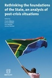 Claske Dijkema et Karine Gatelier - Rethinking the foundations of the State, an analysis of post-crisis situations.