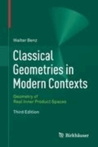 Classical Geometries in Modern Contexts - Geometry of Real Inner Product Spaces.