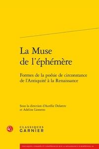 La muse de léphémère - Formes de la poésie de circonstance de lAntiquité à la Renaissance.pdf