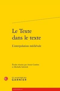 Deedr.fr Le texte dans le texte - L'interpolation médiévale Image
