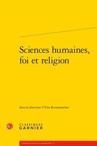 Classiques Garnier - Sciences humaines, foi et religion.