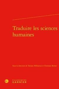 Classiques Garnier - Traduire les sciences humaines.