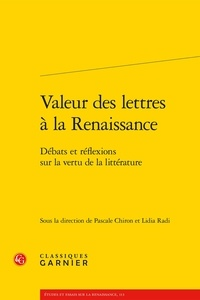 Histoiresdenlire.be Valeur des lettres à la Renaissance - Débats et réflexions sur la vertu de la littérature Image