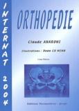 Claude Aharoni - Orthopédie - Internat 2004.