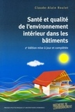 Claude-Alain Roulet - Santé et qualité de l'environnement intérieur dans les bâtiments.