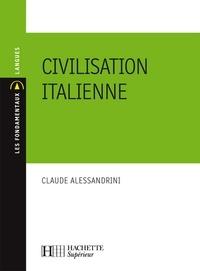 Claude Alessandrini - Civilisation italienne - N°155.