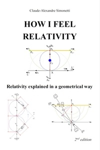 Claude-Alexandre Simonetti - How I feel relativity - Relativity explained in a geometrical way.