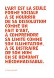Claude Amey - L'art sans gravité - De l'oeuvre à sa défection.
