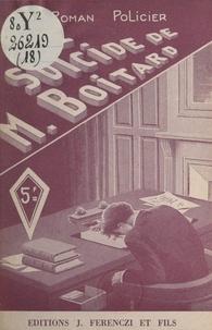 Claude Ascain - Le suicide de M. Boitard.