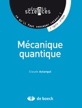 Claude Aslangul - Mécanique quantique.