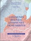 Claude Barbier et Pierre-François Schwarz - Atlas historique du Pays de Genève - Tome 2, Communes réunies, communes démembrées.