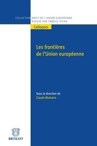 Claude Blumann - Les frontières de l'Union européenne.