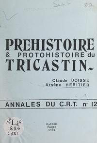 Claude Boisse et Arsène Héritier - Préhistoire et Protohistoire du Tricastin.