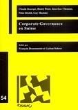 Claude Bourqui - Corporate governance en Suisse.