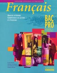 Claude Bouthier et Véronique Bourguignon - Français 1ère et Terminale Bac pro.