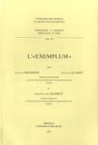 """Claude Brémond et Jacques Le Goff - L'""""Exemplum""""."""