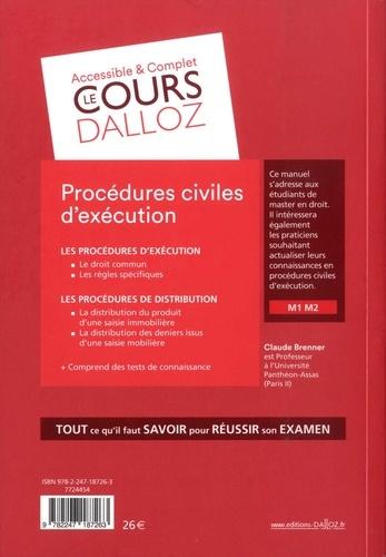 Procédures civiles d'exécution 10e édition