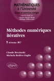Claude Brézinski et Michela Redivo-Zaglia - Méthodes numériques itératives - Algèbre linéaire et non linéaire.