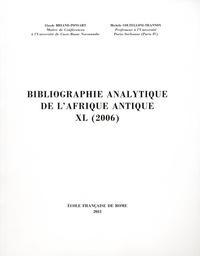 Claude Briand-Ponsart et Michèle Coltelloni-Trannoy - Bibliographie analytique de l'Afrique antique XL (2006).