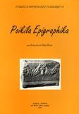 Claude Brixhe - Poikila Epigraphika.